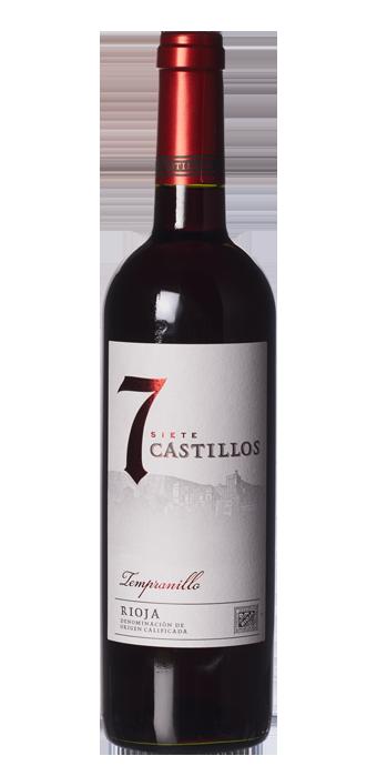 Bodega Vallobera 7 Castillos Tempranillo 75CL
