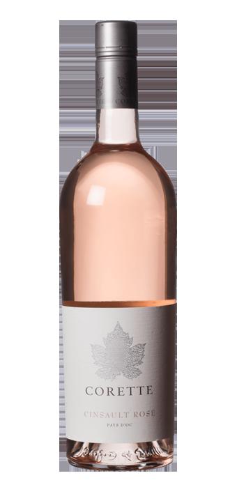 Corette Cinsault Rosé Vin De Pays IGP 75CL