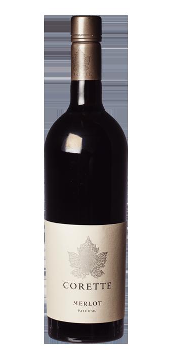 Corette Merlot Vin De Pays IGP 75CL