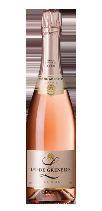 Louis De Grenelle Rosé Corail Sec 75CL