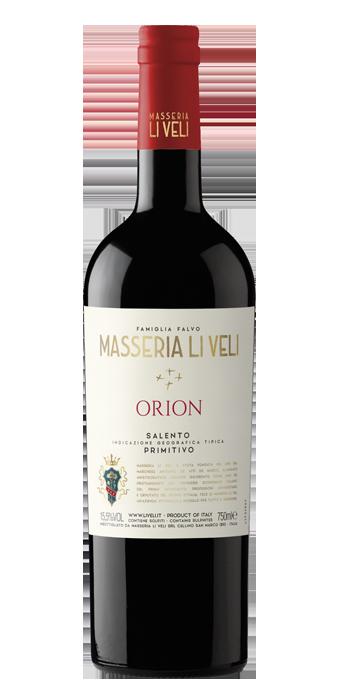 Masseria Li Veli Orion Primitivo Salento IGT 75CL