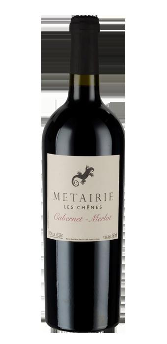 Metairie Les Chênes Cabernet Sauvignon Merlot Pays D'Oc IGP 75CL