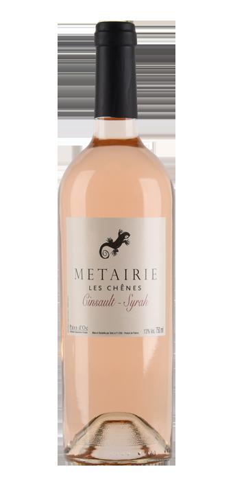 Metairie Les Chênes Cinsault Syrah Rosé Pays D'Oc IGP 75CL