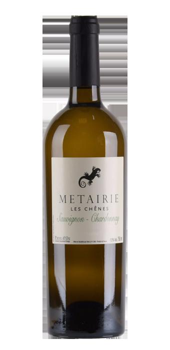 Metairie Les Chênes Sauvignon Chardonnay Pays D'Oc IGP 75CL