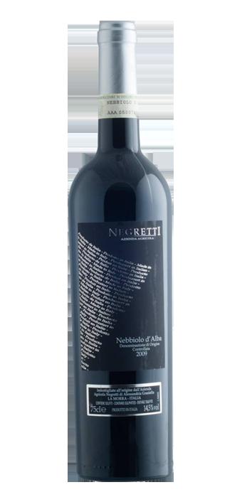Negretti Nebbiolo D'Alba DOC 75CL