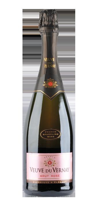 Veuve Du Vernay Vin Mousseux Rosé Brut 75CL