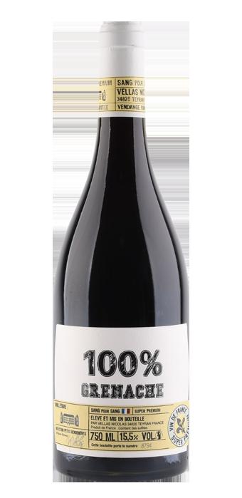 Vignobles Vellas Sang Pour Sang 100% Grenache 75CL