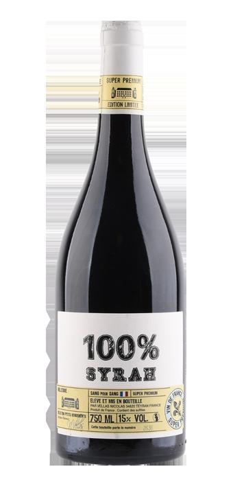 Vignobles Vellas Sang Pour Sang Syrah 100% 75CL