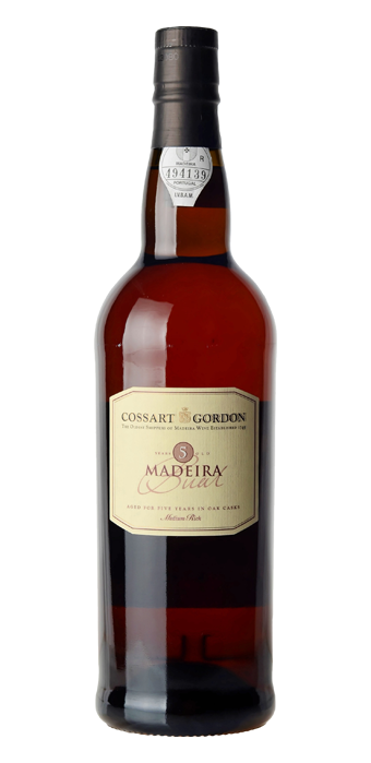 Cossart Gordon Madeira Bual 5 Years Old 75CL