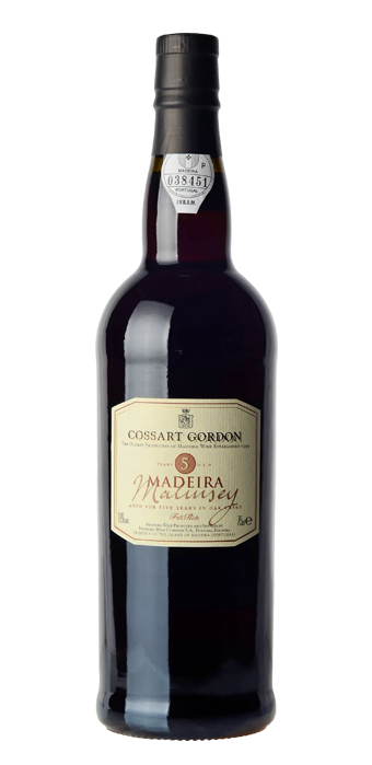 Cossart Gordon Madeira Malmsey 5 Years Old 75CL
