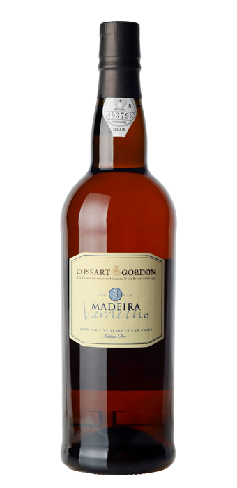 Cossart Gordon Madeira Verdelho 5 Years Old 75CL