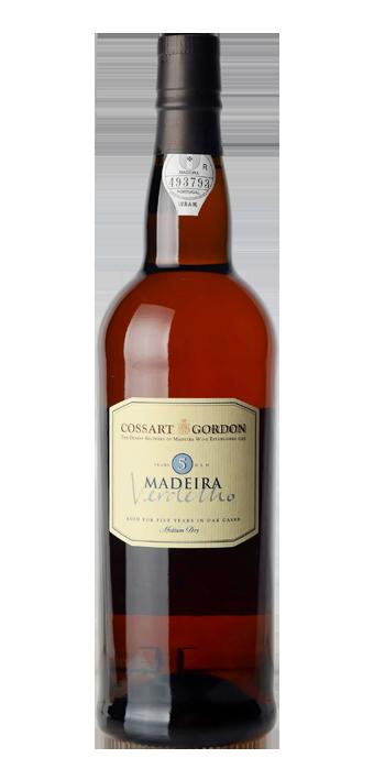 Cossart Gordon Madeira Verdelho 5 Years Old 75CL