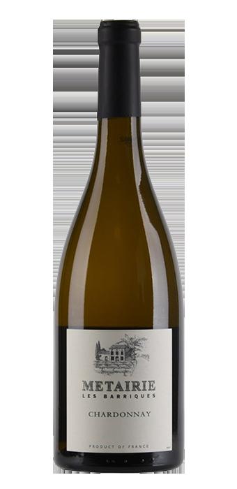 Metairie Chardonnay Les Barriques Pays D'Oc IGP 75CL