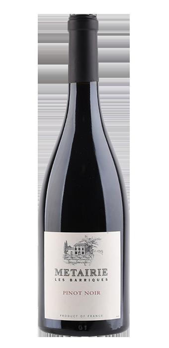 Metairie Pinot Noir Les Barriques Pays D'Oc IGP 75CL