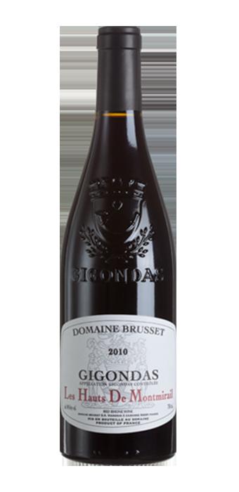 Domaine Brusset Gigondas Les Hauts De Montmirail 2016 75CL