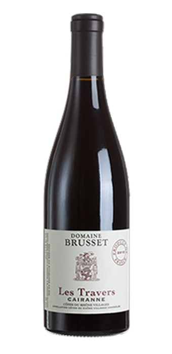 Domaine Brusset Les Travers Cairanne Rouge 75CL
