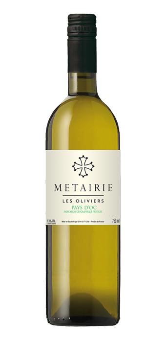 Metairie Les Oliviers Blanc IGP 75CL