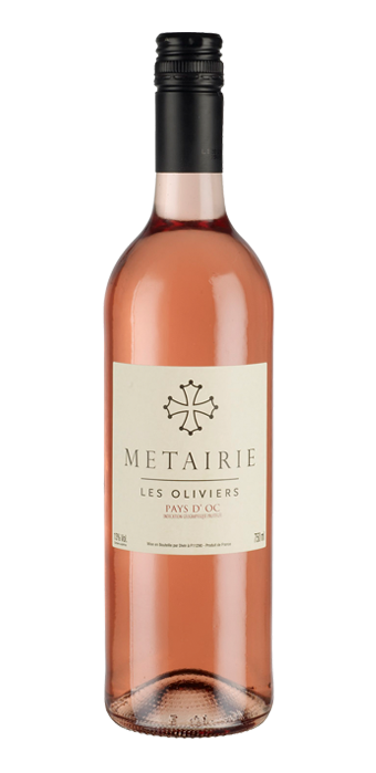 Metairie Les Oliviers Rosé IGP 75CL