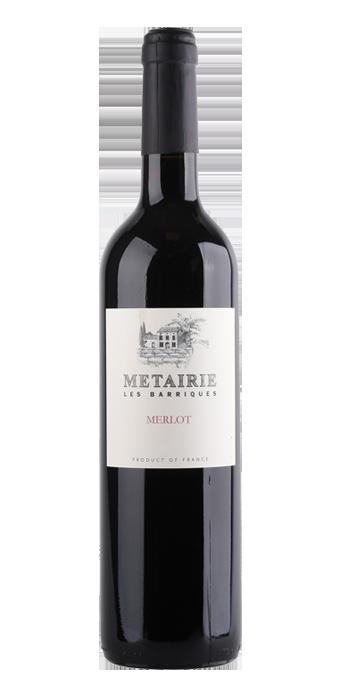 Metairie Merlot Les Barriques 75CL
