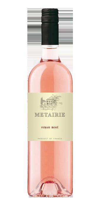 Metairie Syrah Rosé IGP 75CL
