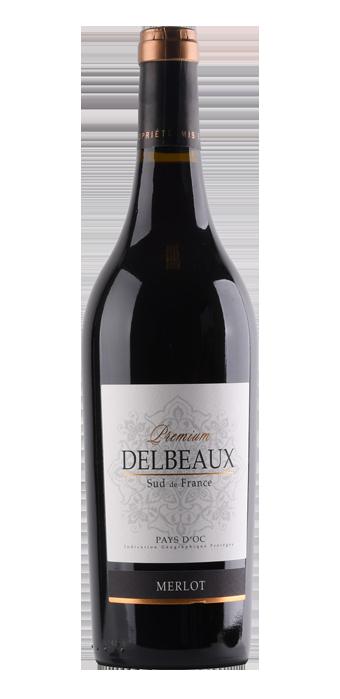 Delbeaux Merlot Premium 75CL