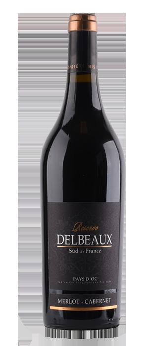 Delbeaux Merlot Cabernet Reserve 75CL