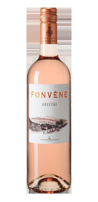 Fonvene Rosé Ardèche 75CL