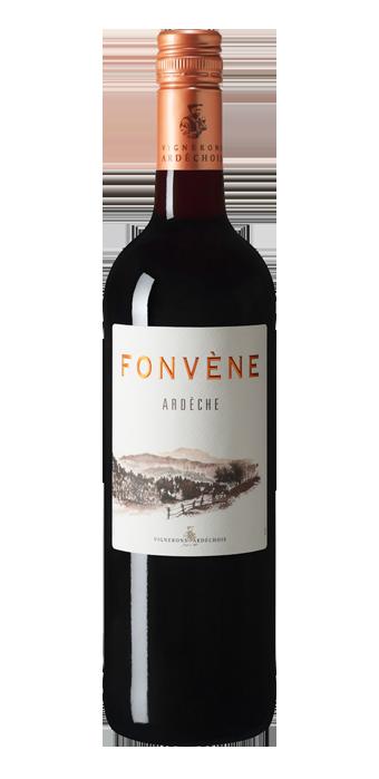 Fonvene Rouge Ardèche 75CL