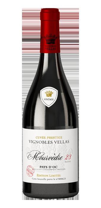 Vignobles Vellas Pays D'Oc IGP Mourvedre 75CL