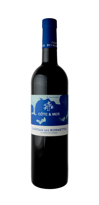 Chateau Des Bormettes Rouge Cote & Mer 75CL