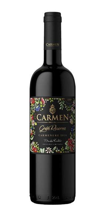Carmen Carmenere Gran Reserva Frida Kahlo 75CL