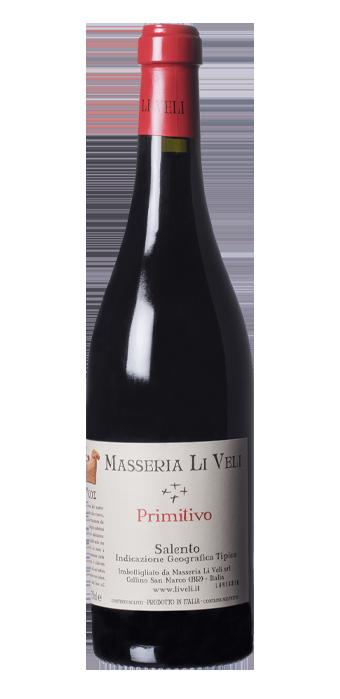 Masseria Li Veli Primitivo Salento 75CL